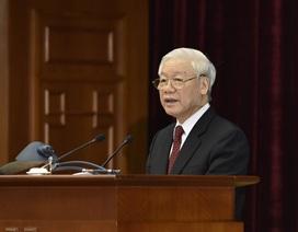 Tổng Bí thư: Gần 200 Ủy viên TƯ thực sự soi mình sẽ tạo chuyển biến mạnh