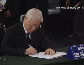 Lời từ biệt xúc động trong sổ tang nguyên Tổng Bí thư Đỗ Mười