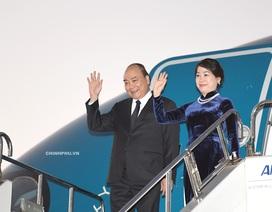 Thủ tướng đến Tokyo thăm Nhật Bản và dự Hội nghị Mekong - Nhật Bản