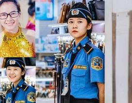 Nữ bảo vệ siêu thị ở Nghệ An gây sốt cộng đồng mạng