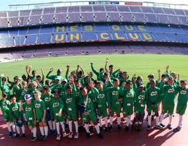 3 ngày tập huấn tại CLB Barcelona, 5 cầu thủ nhí học được gì?