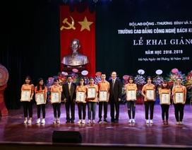 Trường CĐ Công nghệ Bách khoa HN đón 2.000 tân sinh viên tựu trường
