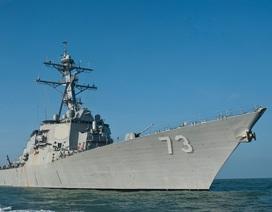 """Ý đồ của Trung Quốc phía sau cú """"cắt mặt"""" tàu chiến Mỹ trên Biển Đông"""
