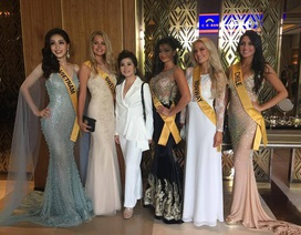 Ngắm nhan sắc của Á hậu Bùi Phương Nga và các thí sinh Hoa hậu hòa bình thế giới 2018