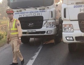 Phạt 22 triệu đồng đoàn xe dàn hàng ngang chống đối CSGT