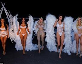 Chị em nhà Kardashians hóa thân thành thiên thần Victoria's Secret