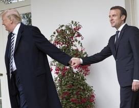 """Ông Trump """"nổi đóa"""" trước ý tưởng quân đội chung châu Âu của Tổng thống Pháp"""