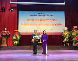 GS.TS Tạ Thành Văn được bổ nhiệm làm Hiệu trưởng trường ĐH Y Hà Nội