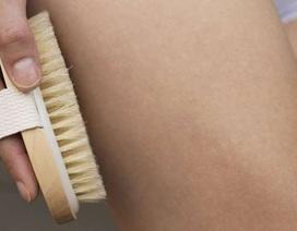 Chải khô có chữa được da sần vỏ cam không?