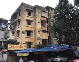 """Chung cư bỏ hoang khiến nhiều người """"lạnh gáy"""" ở Hà Nội sắp được đập bỏ"""