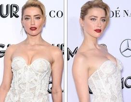 Vợ cũ Johnny Depp kiều diễm với váy trắng