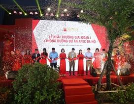 Hơn 300 khách hàng tham dự lễ khai trương giai đoạn I & thông đường dự án Apec Đa Hội