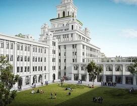 Trường Đại học VinUni  xây dựng trên diện tích rộng 23 hecta