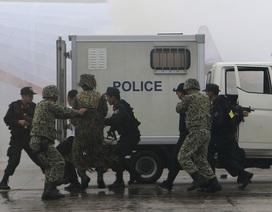 Việt Nam – Trung Quốc tổ chức 5 cuộc diễn tập phòng chống khủng bố