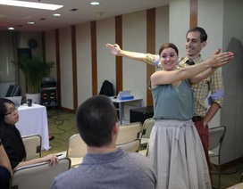 Tập huấn dạy ngữ pháp và tổ chức trò chơi trong lớp học tiếng Anh