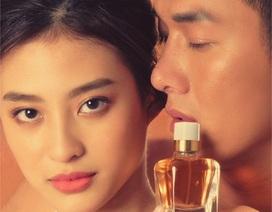 """Song Luân và """"Tiểu Angela Baby Việt Nam"""" đẹp đôi ngỡ ngàng trong dự án Nước hoa Xạ hương."""