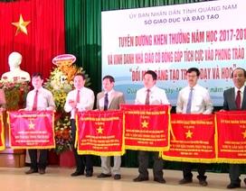 Quảng Nam: Tuyên dương, khen thưởng các nhà giáo tiêu biểu
