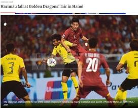 """Báo Malaysia """"tâm phục khẩu phục"""" thất bại trước Việt Nam"""