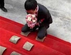 Đến rước dâu, chú rể bị bố mẹ vợ đặt ra thử thách oái oăm không ngờ