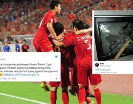 Cổ động viên Malaysia phẫn nộ sau trận thua Việt Nam