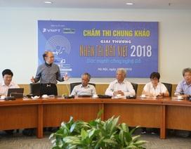 """Chấm Chung khảo Nhân tài Đất Việt 2018: Thí sinh bị quay như """"chong chóng"""""""