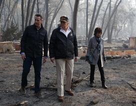 Ông Trump thăm hiện trường vụ cháy rừng khủng khiếp nhất lịch sử California