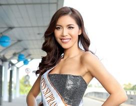 Minh Tú rạng rỡ, chính thức lên đường tham dự Miss Supranational 2018