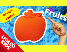 """Tiếng Anh trẻ em: """"Bỏ túi"""" 5 loại quả với trò chơi cát động lực đầy màu sắc"""