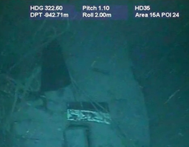 Những hình ảnh đầu tiên của xác tàu ngầm Argentina bị chôn vùi dưới đáy biển