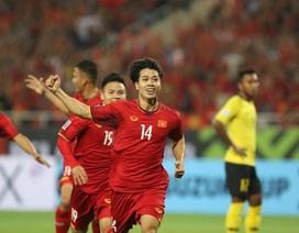 Công Phượng đứng đầu top 5 cầu thủ hay nhất lượt trận thứ 3 AFF Cup 2018