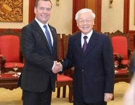 """Tổng thống Nga Putin gửi """"lời chào thân thiết"""" tới Tổng Bí thư, Chủ tịch nước Nguyễn Phú Trọng"""
