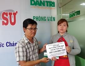 Bạn đọc giúp bé Tuấn Huy hơn 107 triệu đồng