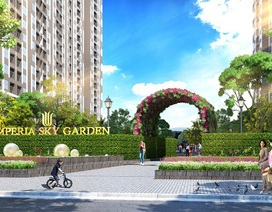 Imperia Sky Garden chính thức mở bán sau khi hoàn thành cất nóc dự án