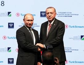 """Nga - Thổ Nhĩ Kỳ khánh thành đường ống khí đốt """"Dòng chảy Thổ Nhĩ Kỳ"""""""