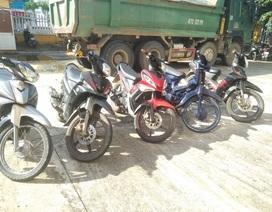Triệt xóa đường dây trộm cắp xe máy liên huyện