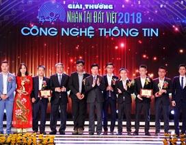 Nhân tài Đất Việt 2018 vinh danh 2 sản phẩm CNTT xuất sắc nhất