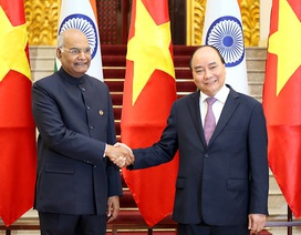 Việt Nam - Ấn Độ bày tỏ quan ngại về diễn biến hiện nay trên Biển Đông