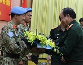 Thêm hai sĩ quan Việt Nam lên đường làm nhiệm vụ Gìn giữ hòa bình