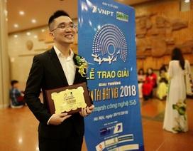 """Nhóm đạt giải Nhì Nhân tài Đất Việt 2018: """"Sẽ vươn tầm ra các quốc gia trong khu vực"""""""