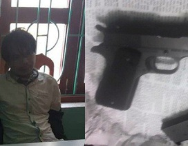 Vụ cướp quỹ tín dụng: Tên cướp cầm súng bị quật ngã chưa đầy 2 phút