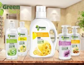 Bộ ba nước giặt rửa chiết xuất thiên nhiên đạt tiêu chuẩn Mỹ đảm bảo an toàn cho cả nhà