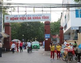 """Chối tội """"hụt"""" trước hàng loạt sai phạm trong dự án trăm tỷ tại bệnh viện tỉnh Bắc Giang"""