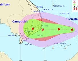 Hình thành bão số 9 trên Biển Đông