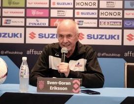 """HLV Eriksson: """"Philippines xứng đáng thắng Thái Lan"""""""