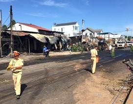 Vụ xe bồn chở xăng gây cháy 19 nhà dân, 6 người tử vong: Sẽ khởi tố