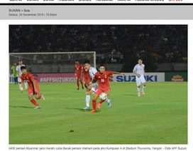 Truyền thông Malaysia vui mừng khi đội tuyển Việt Nam bị cầm hòa