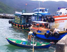 Xã đảo Nhơn Châu cấm biển, chuẩn bị 10 tấn gạo chống bão