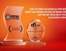 Martime Bank liên tiếp nhận 2 giải thưởng uy tín quốc tế