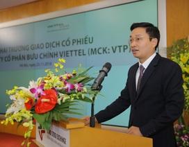 Viettel Post niêm yết trên sàn chứng khoán với giá trị 3.000 tỷ đồng