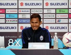 """HLV Campuchia: """"Sự vắng mặt của danh thủ Honda rất đáng tiếc"""""""
